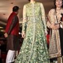 Karisma Kapoor in Designer Anarkali Frock