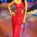 Shilpa Shetty in Designer Red Saree