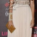 Neha Dhupia at the 20th Annual Life OK Screen Awards red carpet