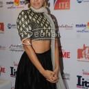 Neha Dhupia in Designer Black Suit