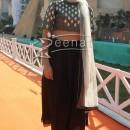 Neha Dhupia in Brocade cropped Top at IITT 2014 Inauguration