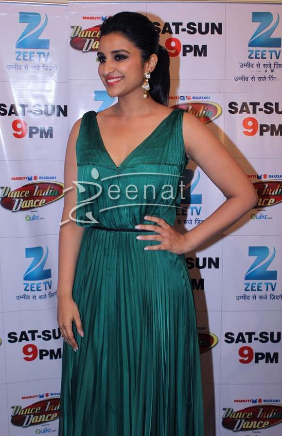 Parineeti Chopra In Green Maxi