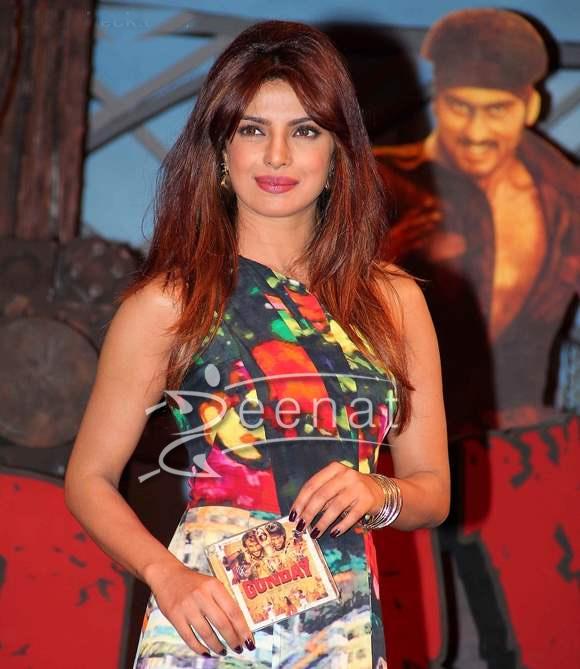 Priyanka Chopra In Designer Frock