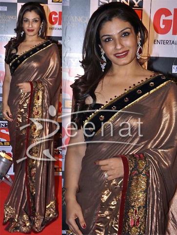 Raveena Tondon In Designer Saree