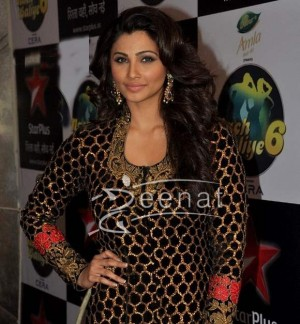 Daisy Shah In Designer Anarkali Frock