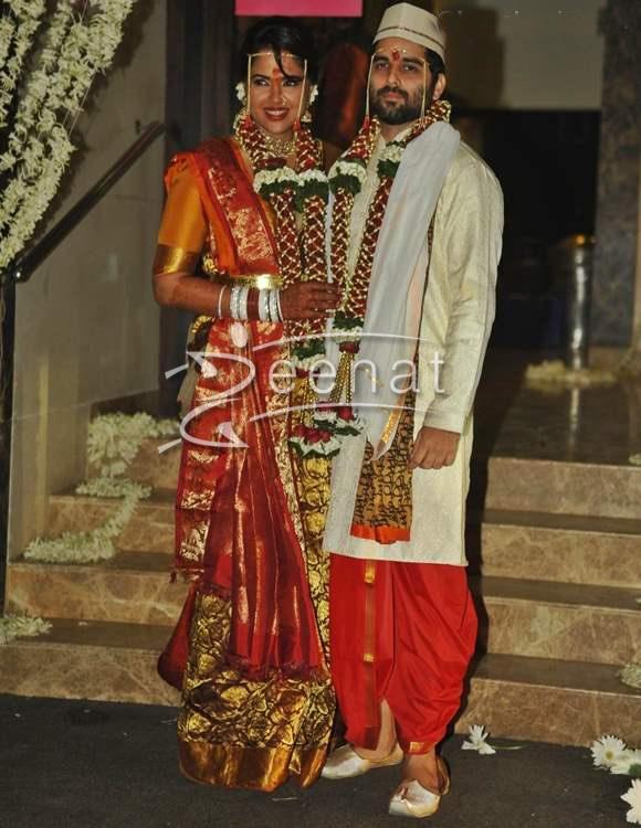 Sameera Reddy In Bridal Wear