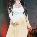 Urmila Matondkar In Designer White Anarkali
