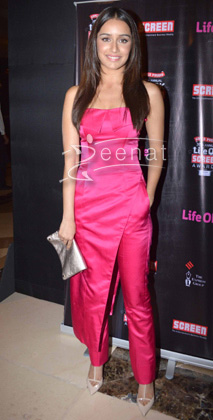Shraddha Kapoor attend Screen Awards nomination party