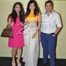 Amrita Puri at Lakme Fashion Week Summer Resort 2014 Press Meet
