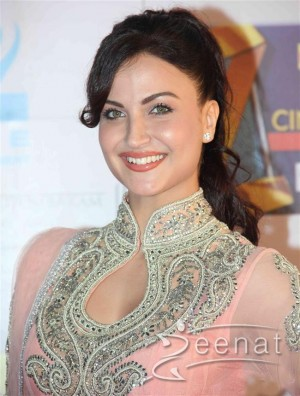 Elli Avram at mumbai zee cine award 2014