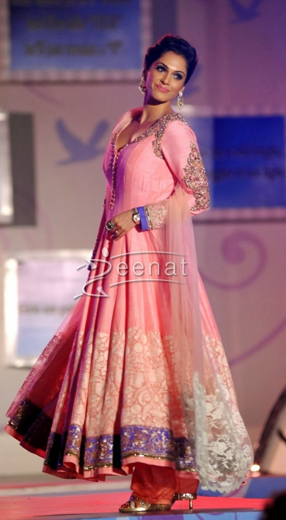 Isha Koppikar In Designer Anarkali Churidar