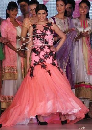 Genelia D'Souza In Designer Maxi