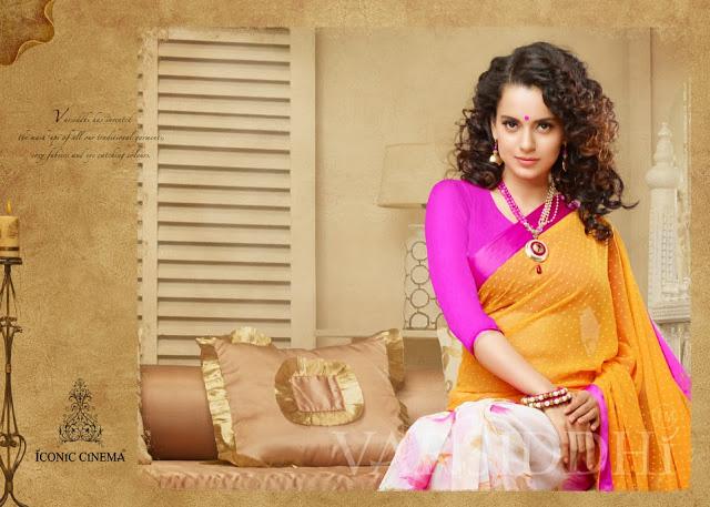 Kangana In Designer Saree 506