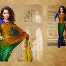 Kangana In Designer Saree 511