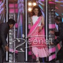 Kangana Ranaut In Pink And White Anarkali