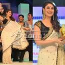 Kareena Kapoor In Designer Cream Saree