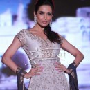 Malaika Arora Khan In Designer Anarkali Frock