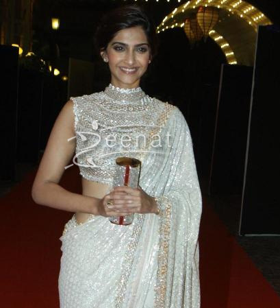 Sonam Kapoor In Designer Saree