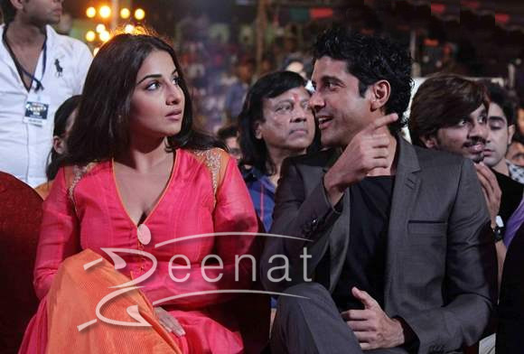 Vidya and Farhan Promote Shaadi ke Side Effects on Dance India Dance Season 4 Finale