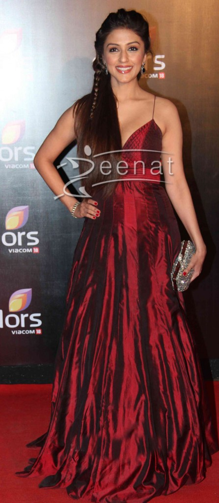 Aarti Chabaria at Colors' party 2014