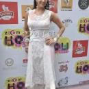 Sunny Leon In Designer White Anarkali Churidar