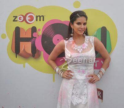 Sunny Leon In Anarkali Churidar