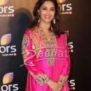 Madhuri at Colors' party 2014