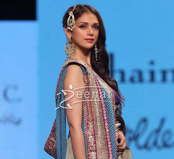 Aditi Rao Hydari In Designer Saree