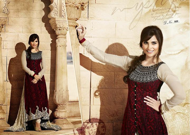 Lara DUtta In Designer Anarkali