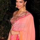 Deepika Padukone In Bollywood Saree