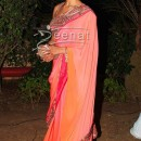Deepika In Designer Pink Saree