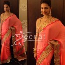 Deepika In Pink Saree