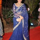 Sonakshi In Designer Blue Saree