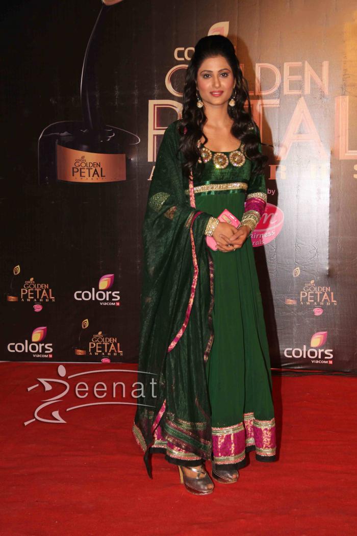 celebrities at colors tv 3rd golden petal awards 2013 9 zeenat style
