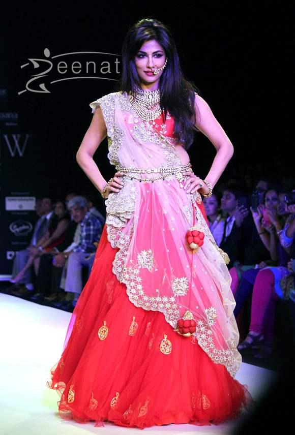 Chitrangada Singh Walked for Moni Agarwal