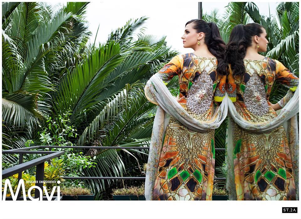 2a Mavi Designer Embroidered 2014