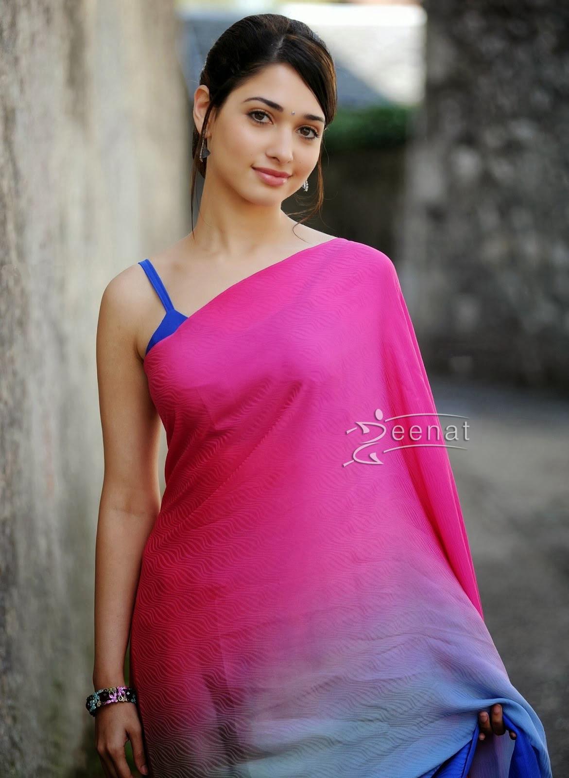 tamanna bhatia saree styles | zeenat style