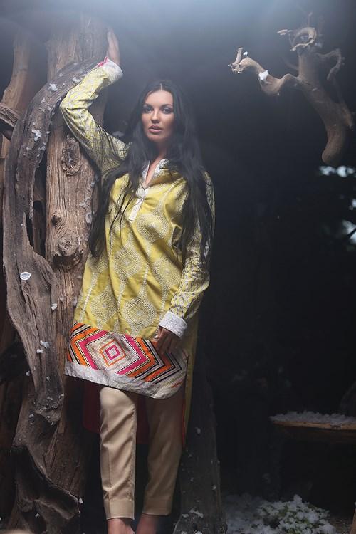 Zunn Winter Shawl Dresses 2014  (3)