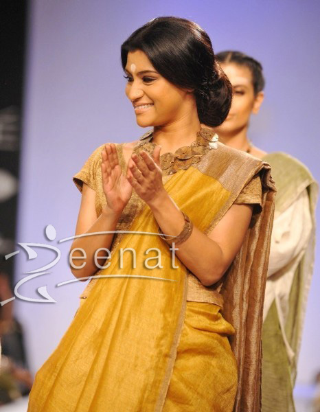 Konkona Sen Sharma in Designer Saree
