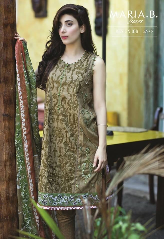 Maria.B Lawn Spring Summer Collection 2015