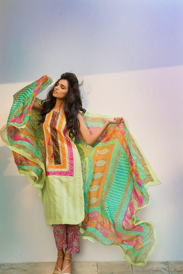 Shirin Hassan Summer Collection 2015