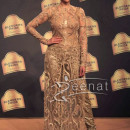 Aditi Rao Hydari In Neeta Lulla Golden Dress Blenders Pride3
