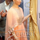 Tamanna Bhatia White and Gold Store Opening in Ridhi Mehra(3)
