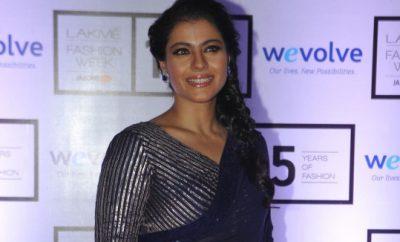 Kajol In Manish Malhotra Saree