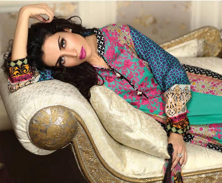 Ayesha Chottani Eid Collection 2015 (1)