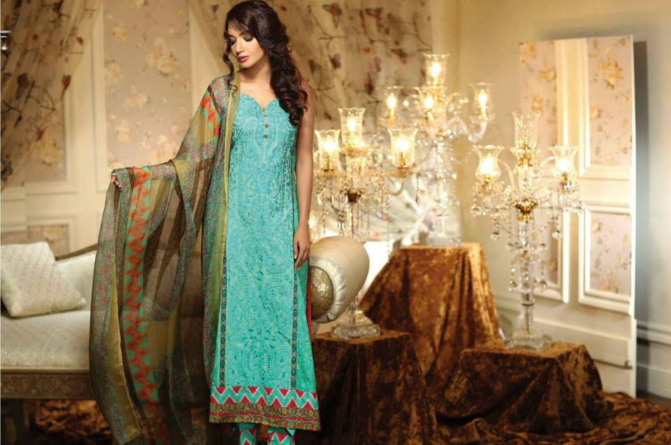 Ayesha Chottani Eid Collection 2015 (1)