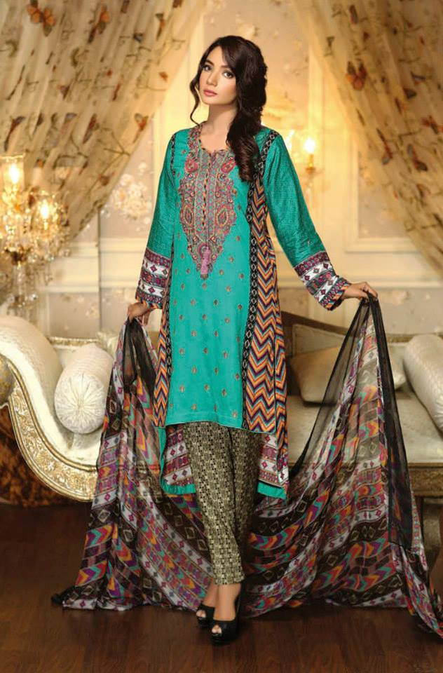 Ayesha Chottani Eid Collection 2015 (4)