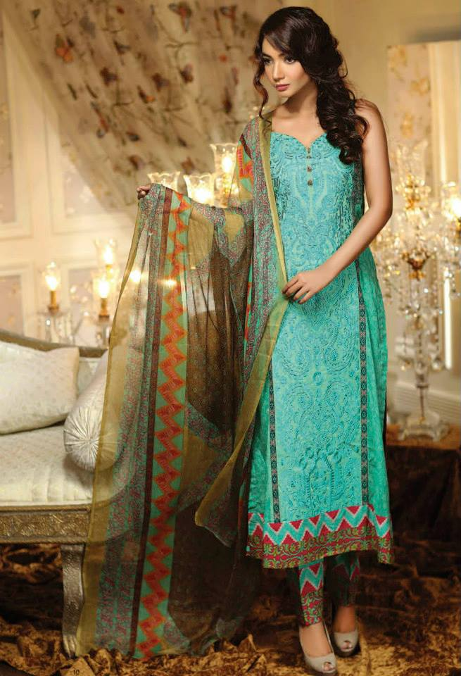 Ayesha Chottani Eid Collection 2015 (6)