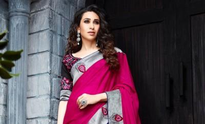 Karisma Kapoor in Ethnic Indian Saree