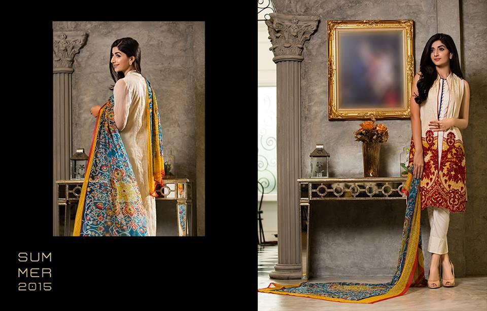 Mahiymaan By Al Zohaib Textiles 2015 – Mawra Hocane (4)